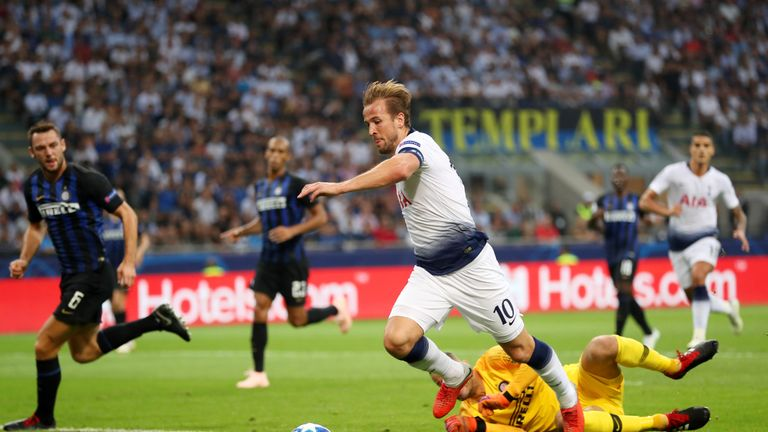Harry Kane did not attempt a single shot in a game for only the second time since the beginning of last season