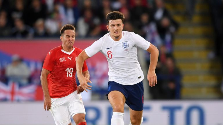 Maguire played in both of England's matches during the international break