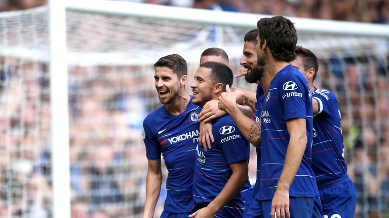 Eden Hazard feels '200 per cent' despite busy Chelsea schedule