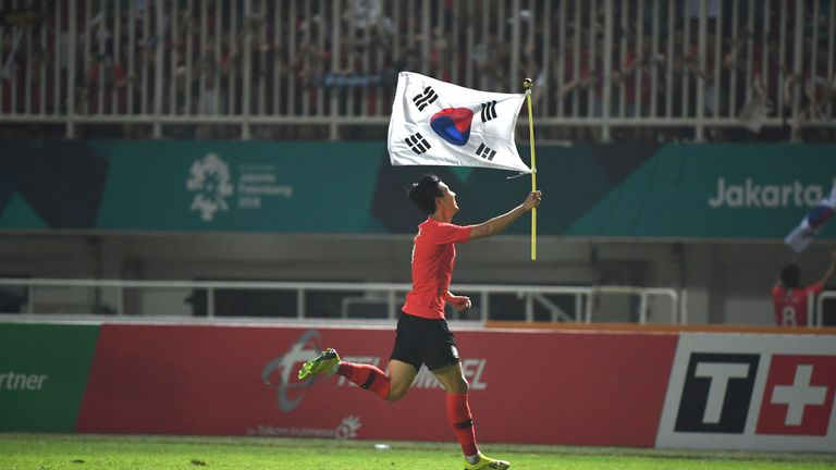 Heung-Min Son was allowed to miss Tottenham's last few matches to compete in the tournament.