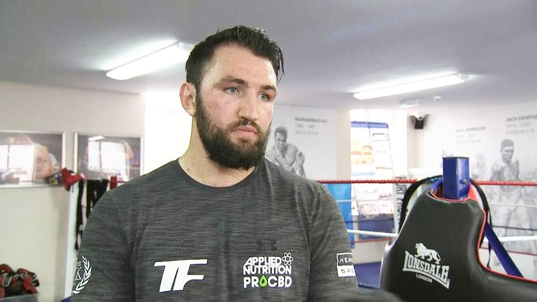 Hughie Fury can earn a shot at Anthony Joshua's IBF belt if he beats Kubrat Pulev