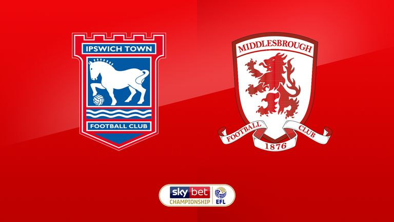 Ipswich Town v Middlesbrough
