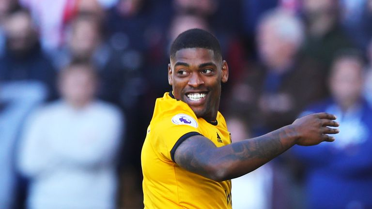 Ivan Cavaleiro celebrates his first goal of the season