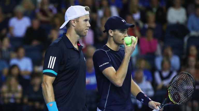 Jamie Murray and Dominic Inglot beat Denis Istomin and Sanjar Fayziev