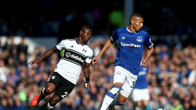 Fulham were beaten 3-0 by Everton on Saturday