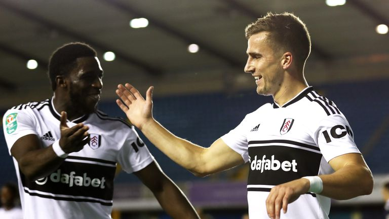 Joe Bryan (right) will be missing for Fulham on Thursday