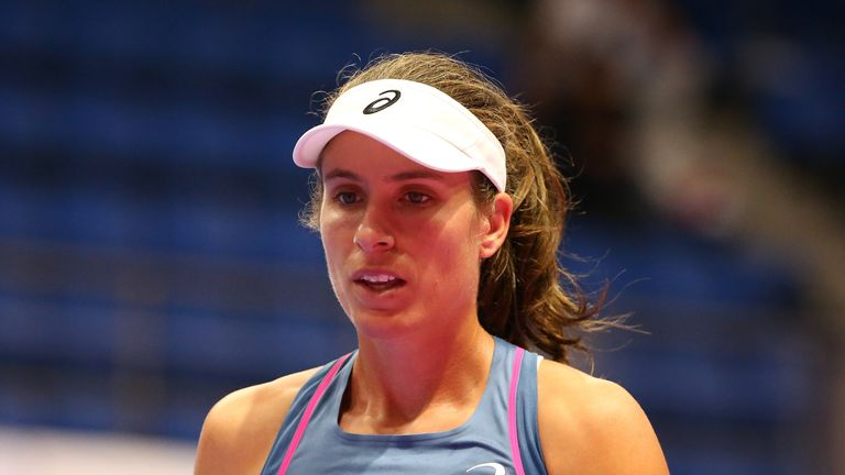 Konta reached a career-high of world No 4 after run to the Wimbledon semi-finals in 2017