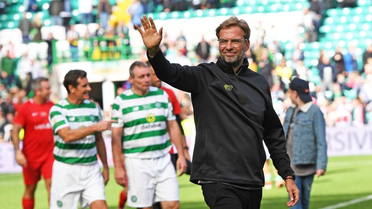 Jurgen Klopp took charge of the Liverpool side