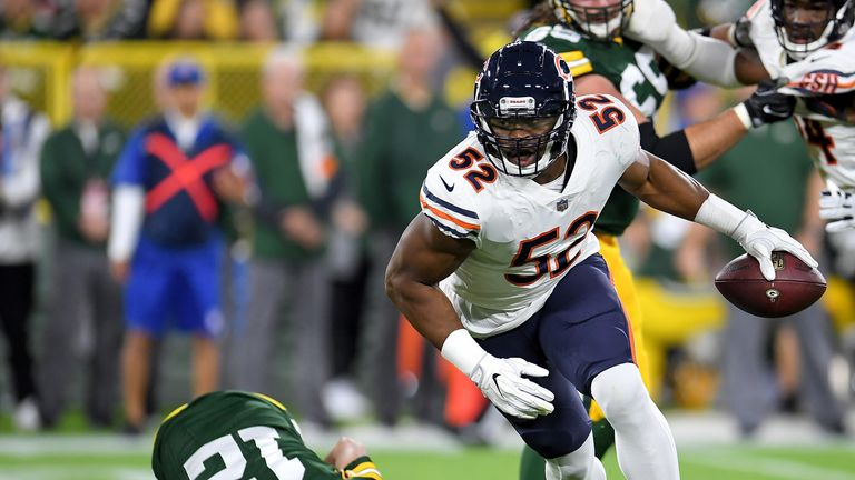 Khalil Mack has made a big impression in Chicago since his trade from Oakland