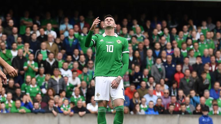 Jonny Evans says Republic of Ireland friendly will be played 'in good spirits'