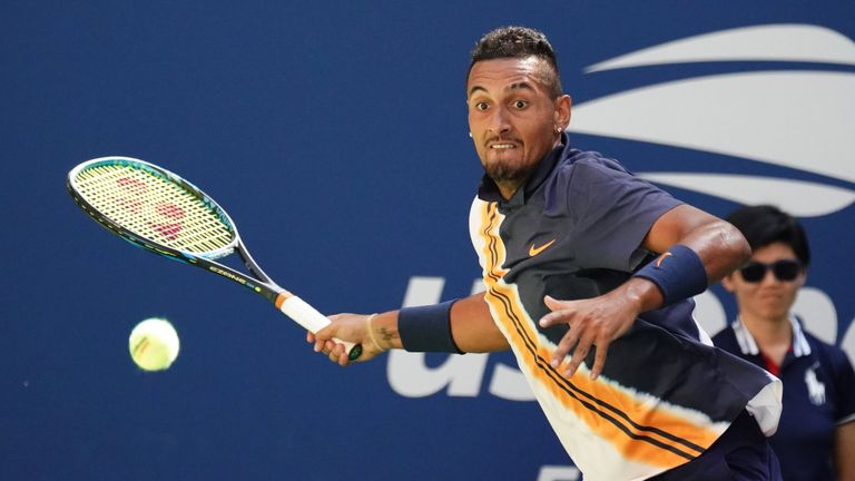 Nick Kyrgios is yet to progress past the third round at Flushing Meadows