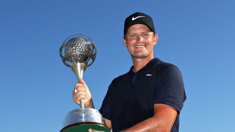 Tom Lewis secured a long-awaited second European Tour title on Sunday