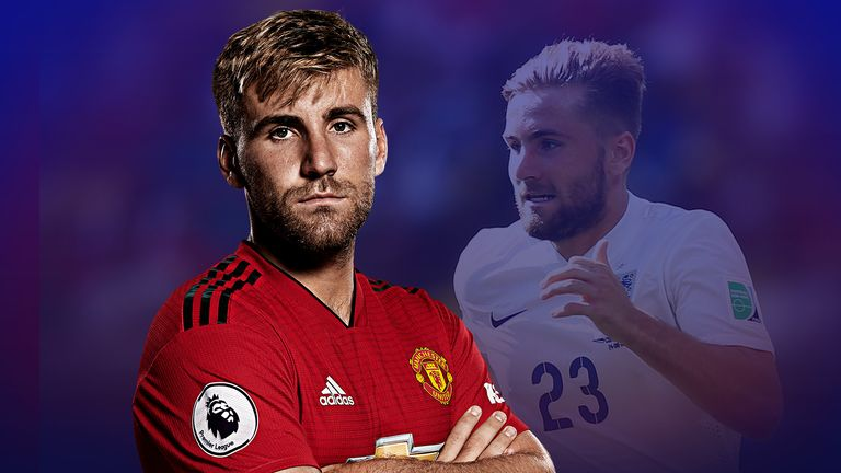 Luke Shaw is back in the England squad to face Spain and Switzerland