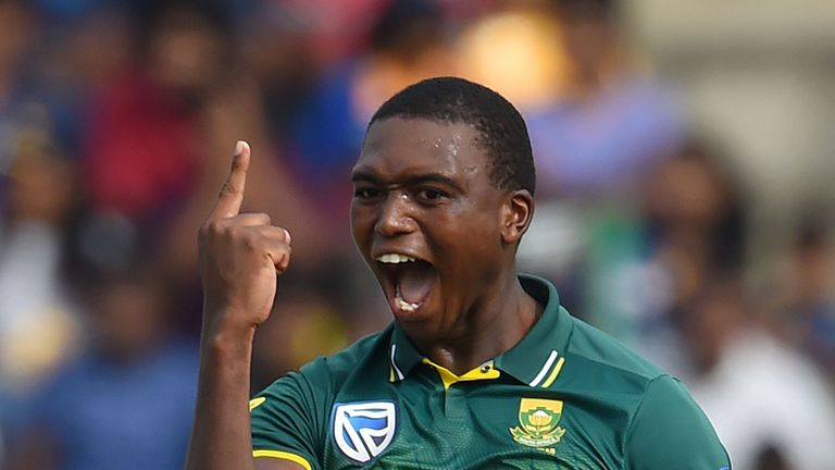 Lungi Ngidi says Dale Steyn has been 'very helpful' in mentoring South Africa's young bowlers
