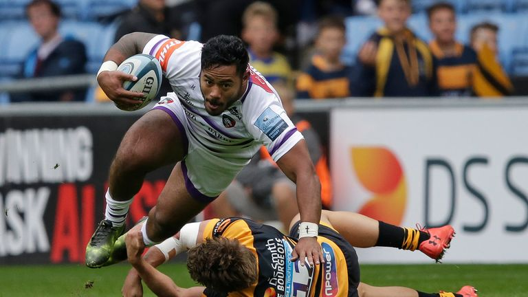 Manu Tuilagi has withdrawn from the England camp due to injury