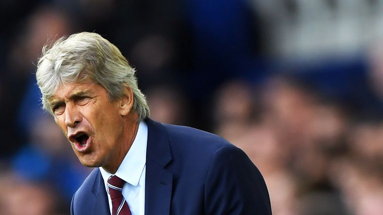 Pellegrini celebrated his 65th birthday on Sunday with three points at Goodison Park