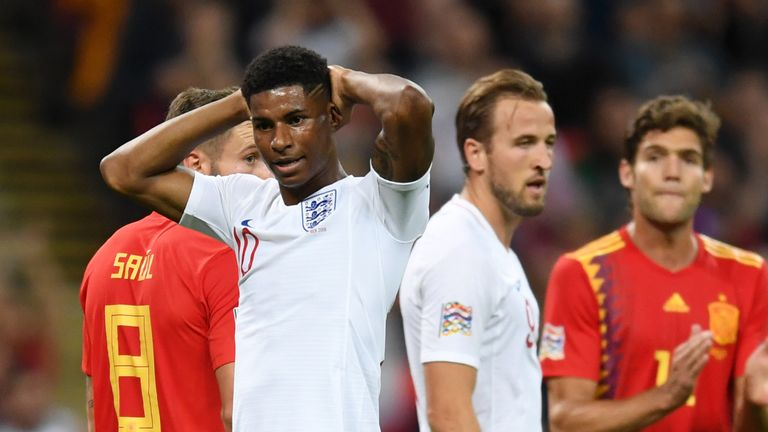 Marcus Rashford and Harry Kane must be more clinical in front of goal
