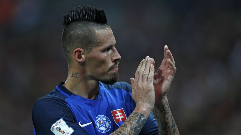 Napoli have rejected offers for Marek Hamsik