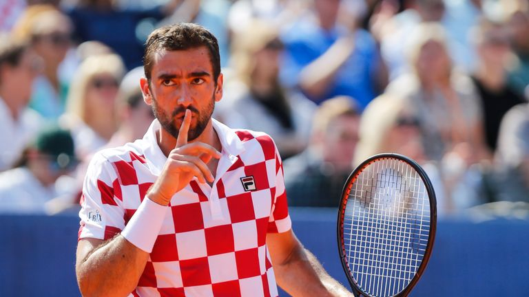 Marin Cilic reached the Australian Open final this season