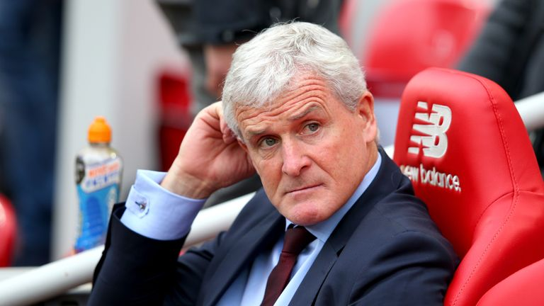 Mark Hughes' Southampton have struggled this season