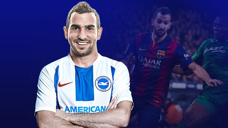 Martin Montoya joined Brighton during the summer
