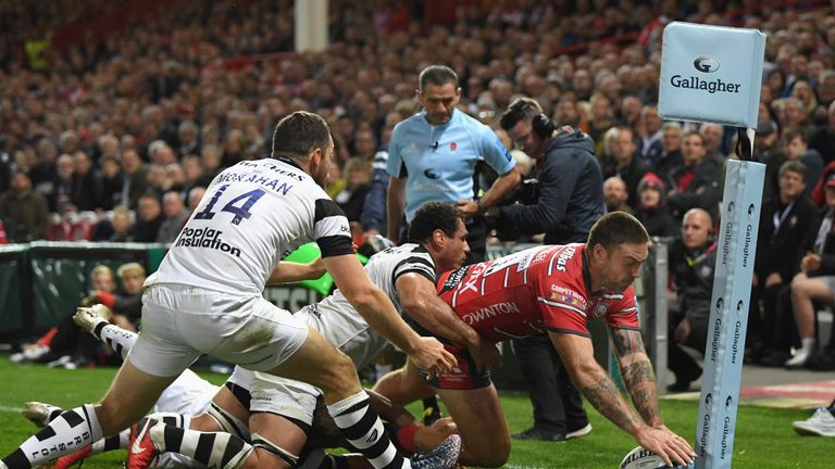 Matt Banahan's try capped a strong second half for Gloucester