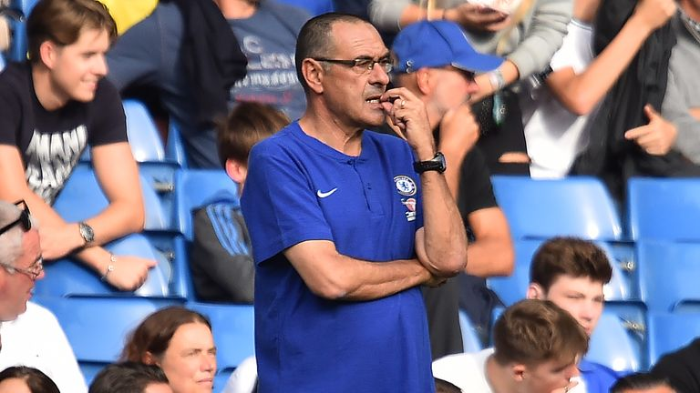 Maurizio Sarri agreed with Neil Warnock when the Cardiff boss said Chelsea needed to improve defensively to compete with the best teams