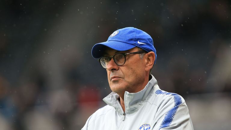 Maurizio Sarri has guided Chelsea to five wins from five matches in the Premier League