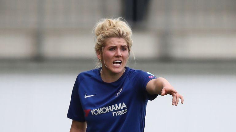 Millie Bright opened the scoring for Chelsea Women