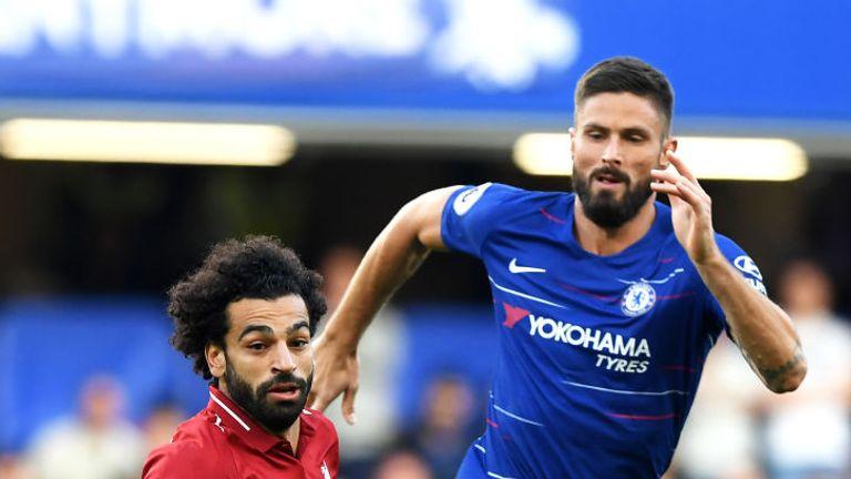 Mohamed Salah endured a frustrating evening at Stamford Bridge