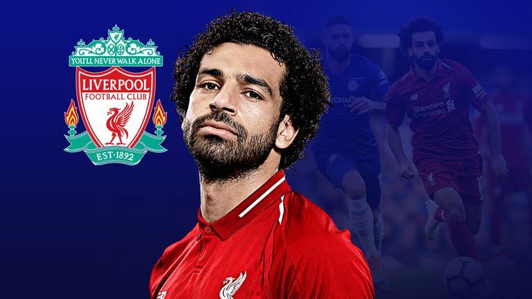 Salah 44 goals for Liverpool last season