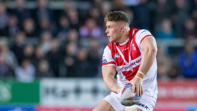 Morgan Knowles proved the hero for St Helens in Perpignan with a late winning try