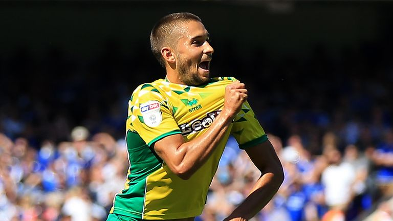Moritz Leitner has helped Norwich to the top of the Championship