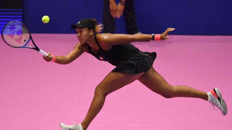 Osaka's 10-match winning streak came to an end against Pliskova