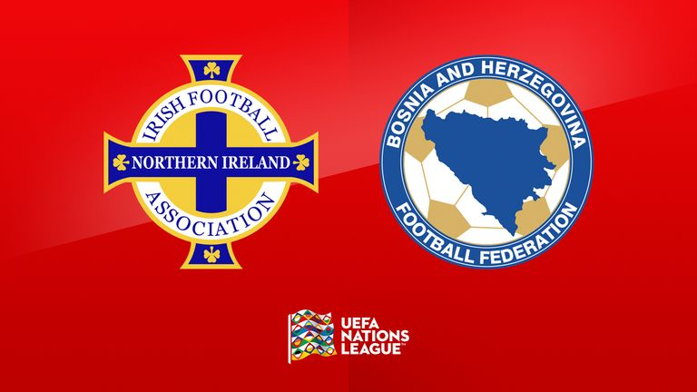 Northern Ireland face Bosnia and Herzegovina at 2pm on Saturday on Sky Sports Football