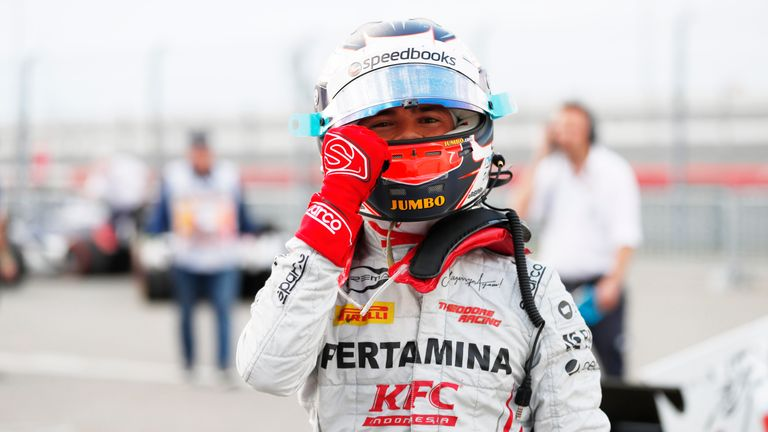 Nyck de Vries takes F2 pole at the Russian GP in Sochi | Motorsport News |
