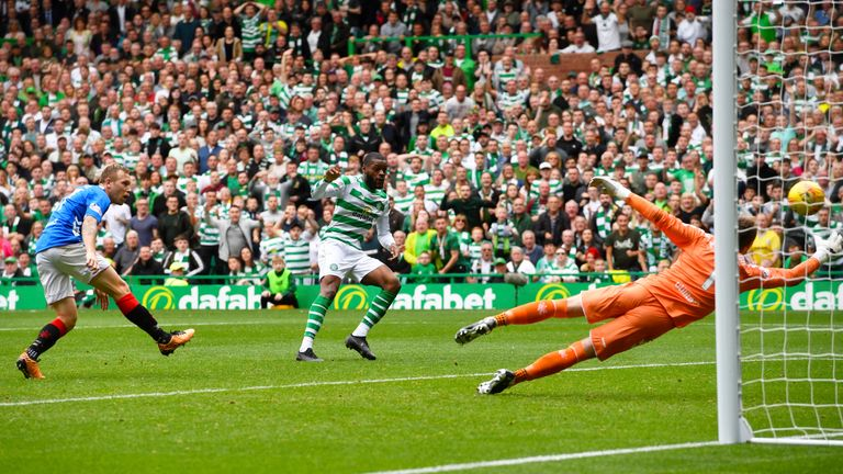 Ntcham nets the winner at Celtic Park