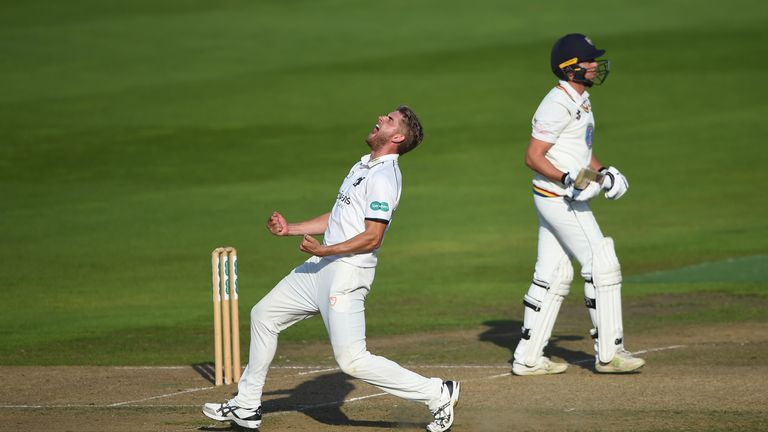 Olly Stone has excelled for Warwickshire following injury problems
