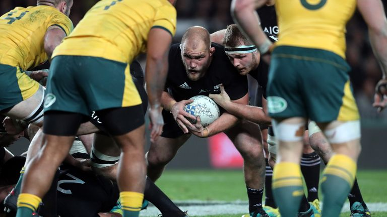 Owen Franks has made more than 100 appearances for the All Blacks