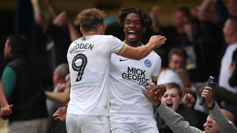 Peterborough are two points clear at the top of Sky Bet League One
