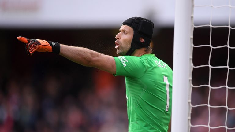 Petr Cech put in a fine performance for Arsenal on Super Sunday