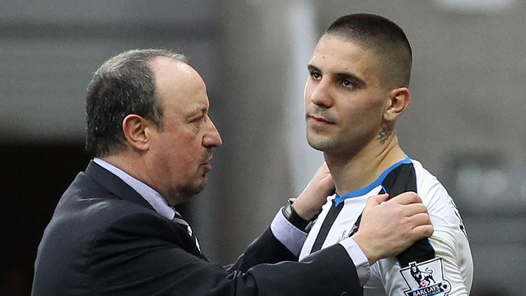 Rafael Benitez says Fulham is a better 'environment' for Aleksandar Mitrovic than Newcastle