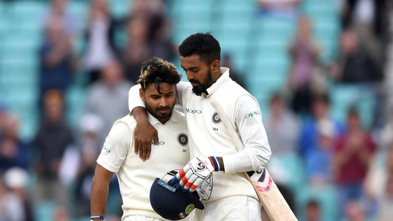Rishabh Pant and KL Rahul played magnificently in their stand of 204