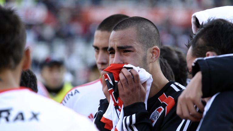 River Plate lost 3-1 on aggregate to rivals Belgrano