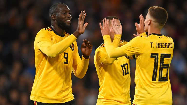 Belgium eased to victory against Scotland on Friday