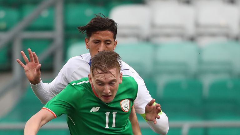 Ronan Curtis is linking up with Martin O'Neill's squad for the trip to Poland