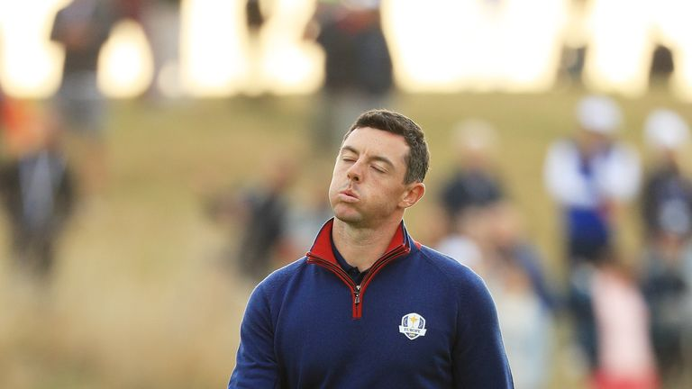Brooks Koepka tee shot injures fan at Ryder Cup