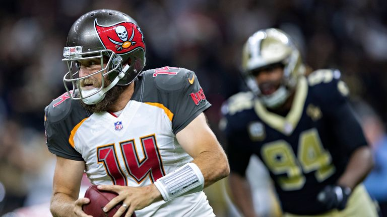 Ryan Fitzpatrick will return as the Buccaneers starting quarterback against the Panthers