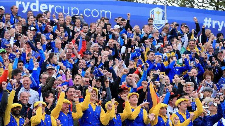 Americans seize early edge chasing rare European win in Ryder Cup