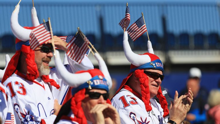 Rod Studd thinks the American fans will be celebrating on Sunday